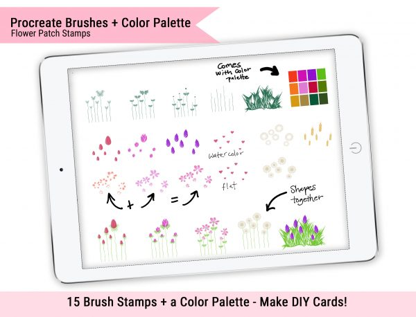 Flower Patch Stamps