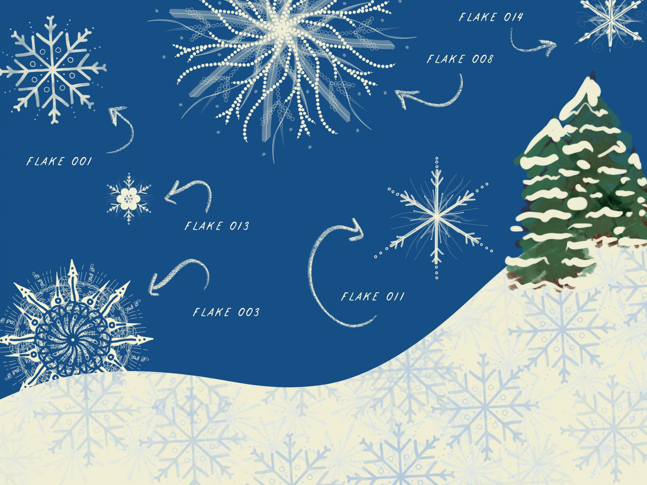 Snowflakes Stamp Set