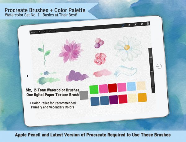 Two-Tone Watercolor Brushes